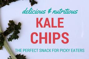 Mmmm…Kale Chips!