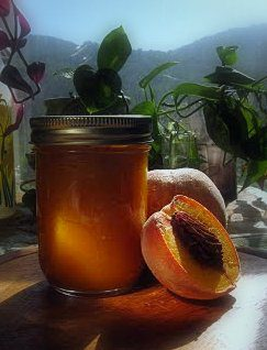 Peach butter recipe on pixiespocket.com