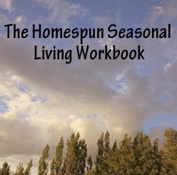 Book Review: Homespun Seasonal Living: 12 Week Workbook