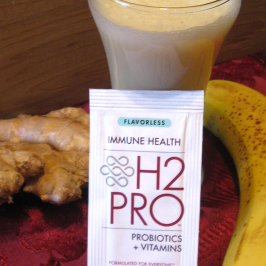 H2PRO Probiotics + Vitamins: Recipe, Review and Giveaway!