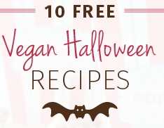 Free Halloween Vegan Cookbook from Abe's Market