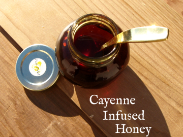 """Cayenne Infused Honey at """"Keeping Backyard Bees"""""""