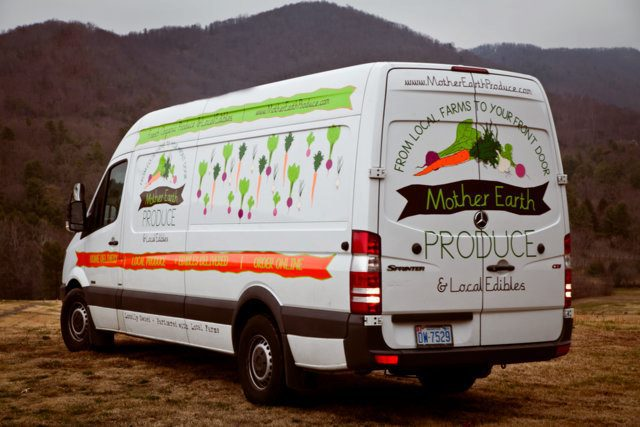 Mother Earth Produce: Free home delivery to Asheville, Greenville, Spartanburg, and surrounding areas