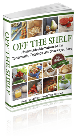 off the shelf, book by attainable sustainable