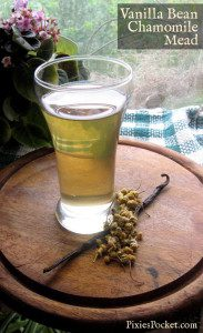 vanilla bean chamomile mead by pixiespocket.com
