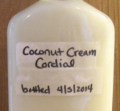 Recipe Box: Creamy Coconut Cordial