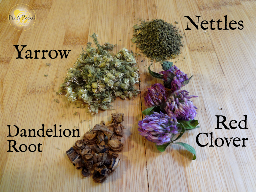 herbs for urinary tract infections, via pixiespocket.com