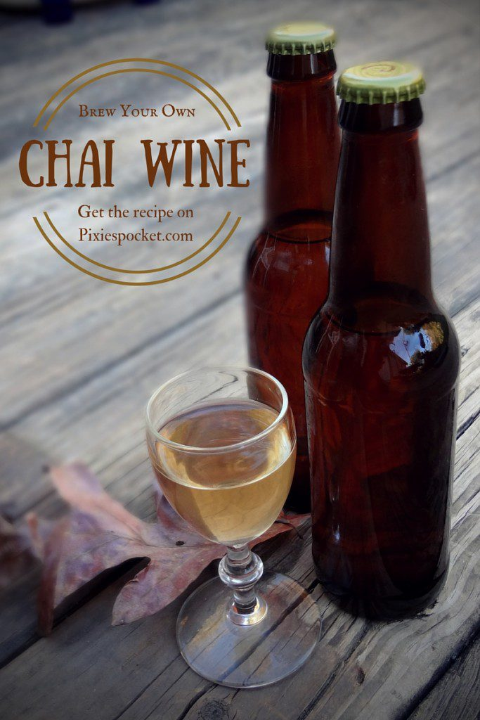 chai wine recipe on pixiespocket.com
