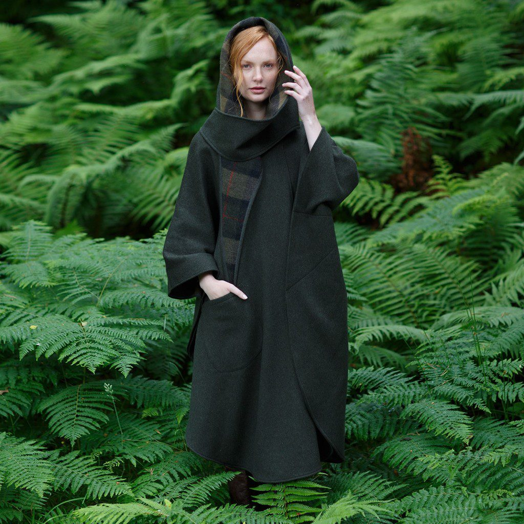 Classic Green Country Walking Cape from theirishstore.com