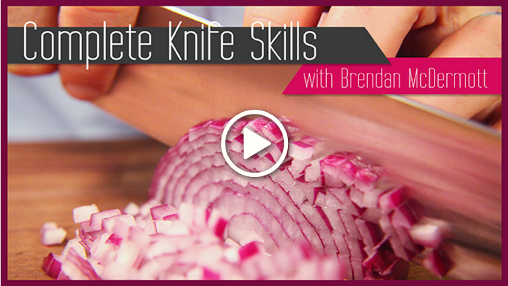 Free Class: Kitchen Knife Skills from Craftsy (as seen on pixiespocket.com)