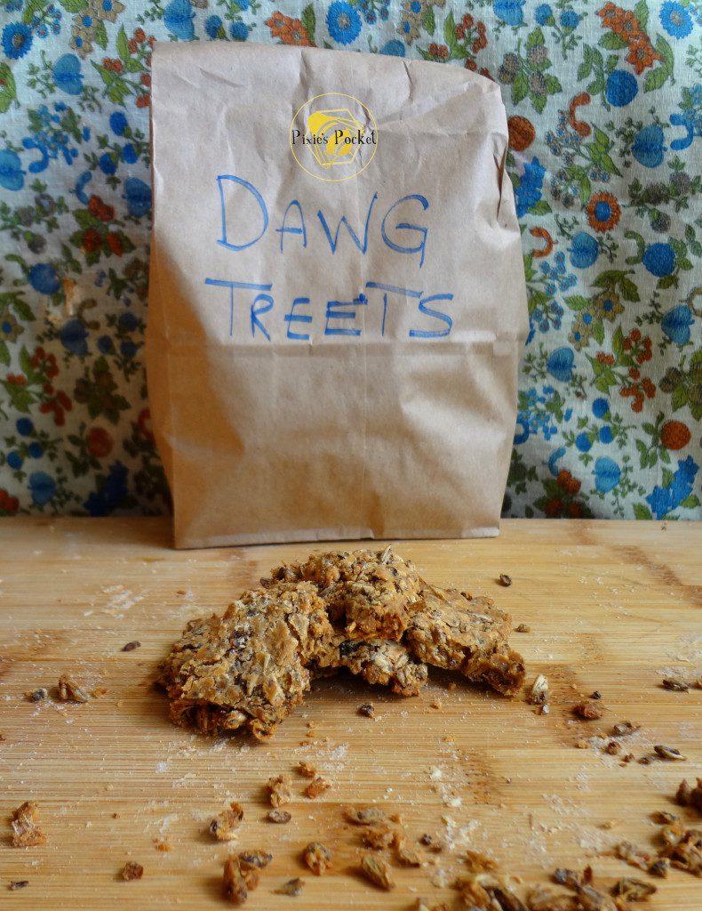 Spent Grain Dog Treats - an easy recipe on Pixiespocket.com!