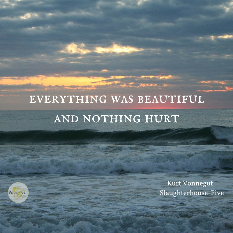 everything was beautiful and nothing hurt vonnegut quote from pixiespocket's post on self care