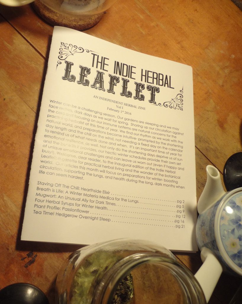 The Indie Herbal Zine Review from pixiespocket.com