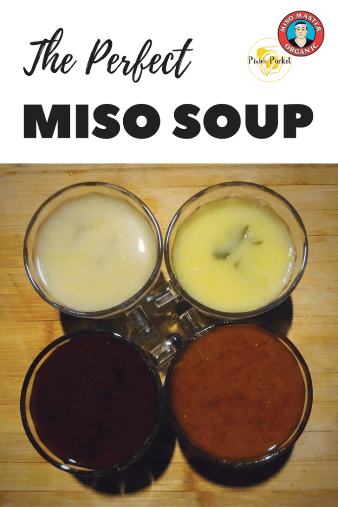perfect miso soup from pixiespocket.com