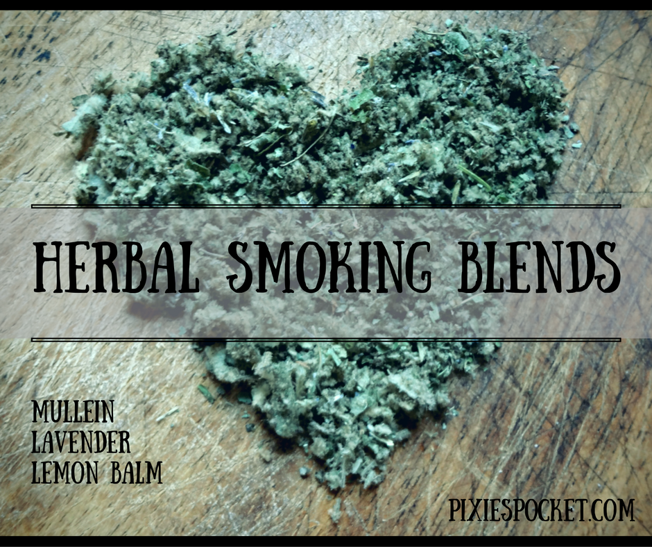 herbal smoking blend how to