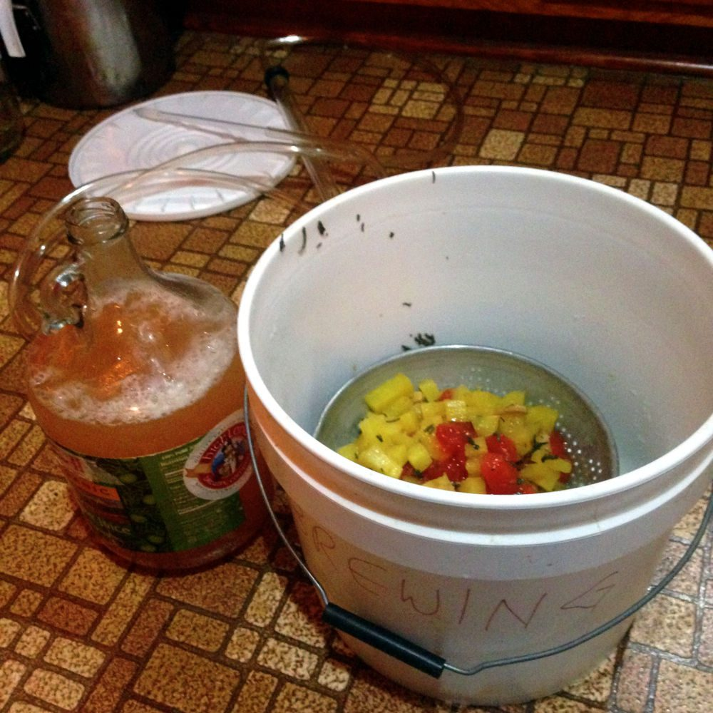 papaya pineapple wine by pixiespocket.com