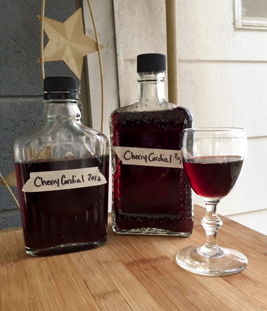 Cherry Cordial: Dark, Sweet, and Delicious! Recipe from pixiespocket.com