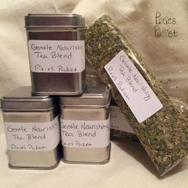 Gentle Nourishing Tea Blend from Pixiespocket.com