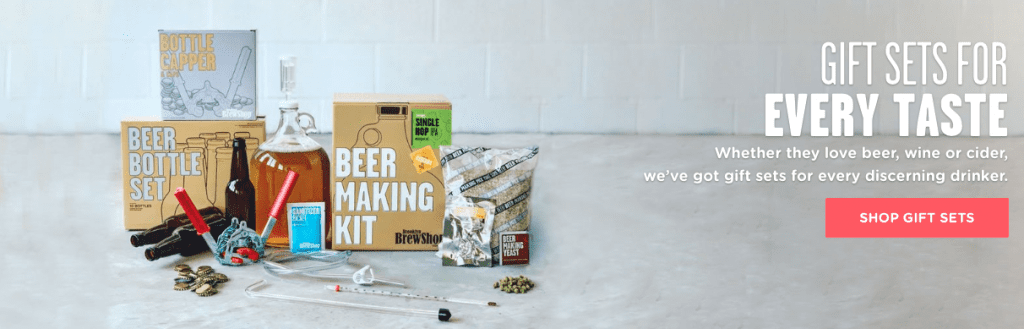 brooklyn brew shop beer brewing kits - from the pixiespocket.com 2018 foodie gift guide