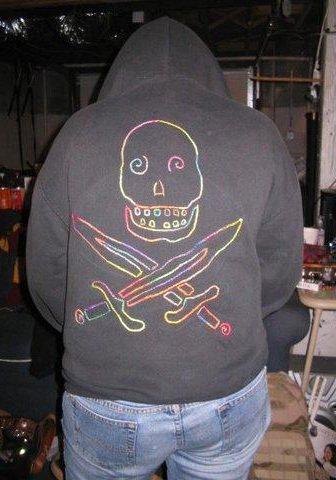 skully hoodie