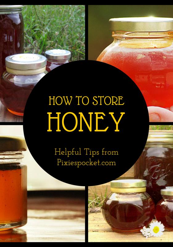 storing honey