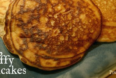 My Big, Fluffy Pancake Recipe