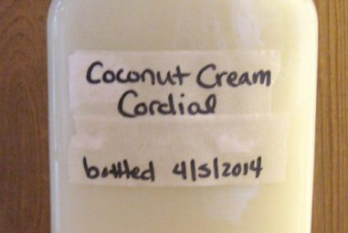 Recipe Box: Creamy Coconut Cordial