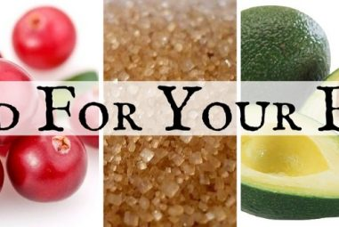 Pamper Yourself with Facial Treatments Made with Food