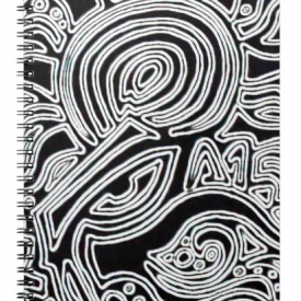 Eyes on You: Spiral Notebook