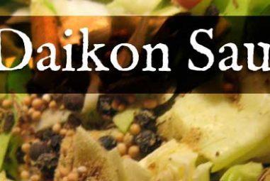 Apple Daikon Radish Sauerkraut Recipe
