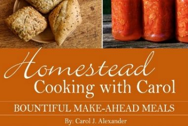 Book Review: Homestead Cooking with Carol