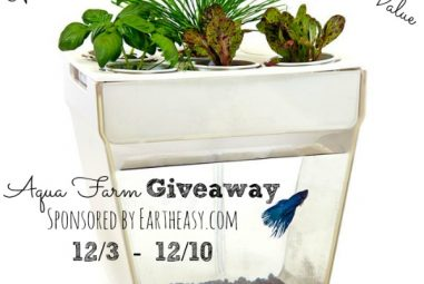 Aqua Farm Giveaway – Grow Food All Year Long!