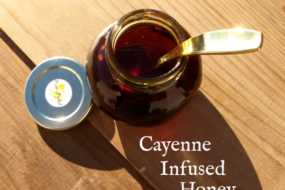 "Cayenne Infused Honey at ""Keeping Backyard Bees"""