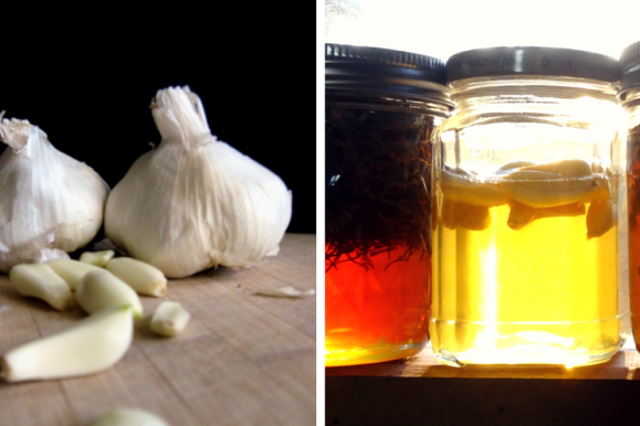 Garlic Infused Honey