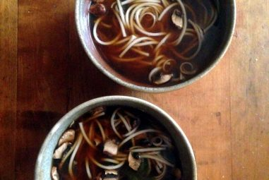 Miso Mushroom Noodle Soup: Recipe and Miso Master Miso Giveaway!