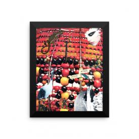 Elegua Collage – Framed Poster