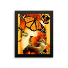 Oshun Collage – Framed Poster