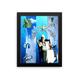 Yemaya Collage – Framed Poster