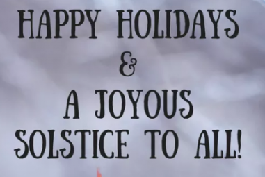 Merry HoHo, Happy Holly Daze, Death to 2016!