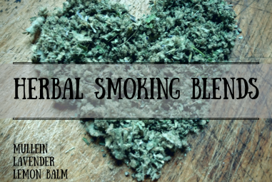 Make your own Herbal Smoking Blends