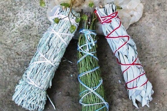 Sage advice! Energetic herbal smudging